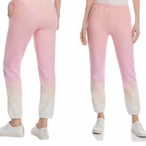 GENERATION LOVE Pink Rowe Dip- Dye NWOT Large